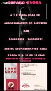 ESPAÇO ÉVORA ACOMPANHANTES DE LUXO 24H