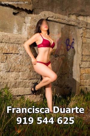 FRANCISCA DUARTE, 21 ANOS REAIS,DESLOCAÇÕES! 919544625